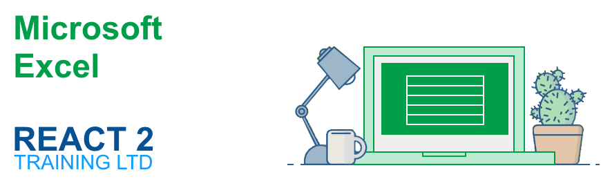 Microsoft Excel Course in Cardiff | React 2 Training Ltd
