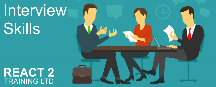 Interview Skills Training Course in Cardiff | React 2 Training Ltd